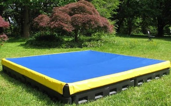 A sandbox cover for your playground